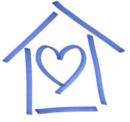 Child and Parent Center House Logo