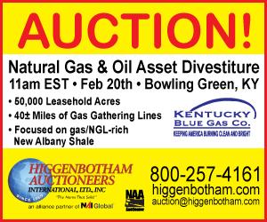 KY Blue Gas - Auction