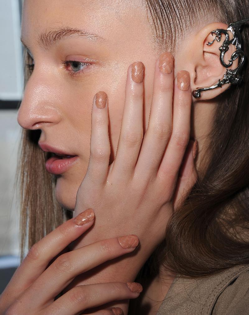 CND Rodarte nails
