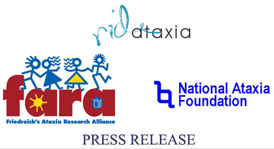 FARA, NAF, Ride Ataxia Joint Press Release