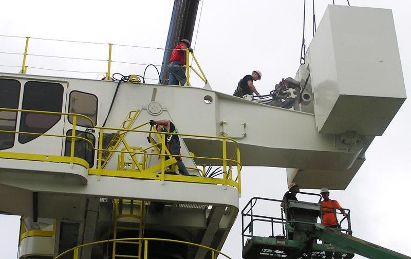 E-Crane Under Construction