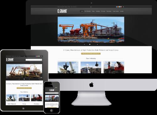 New E-Crane website