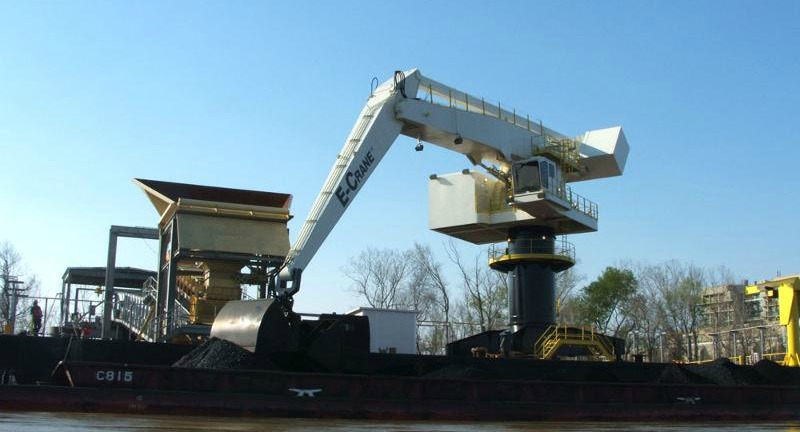 How to cut coal handling costs with E-Crane