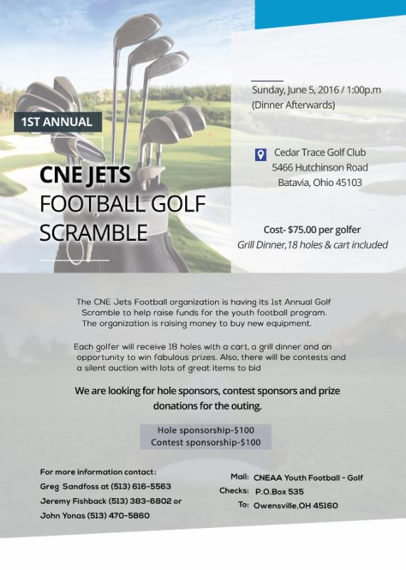 Clermont Northeastern Youth Football Golf Scramble