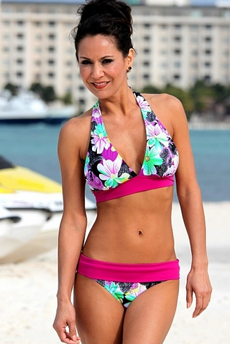 490c1fd7018 Cayucos Beach - Floral Print Bikini