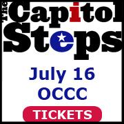 Capitol Steps July 16 OCCC tickets