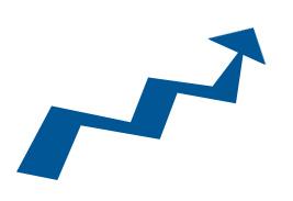 upward arrow