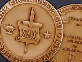 Sigma Delta Chi medal