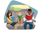 Backseat book club