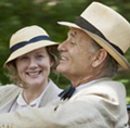 Laura Linney and Bill Murray