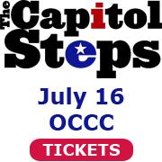 The Capitol Steps July 16 OCCC Tickets