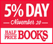 HPBooks 5% Day Nov. 20