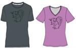 drawing of shirts