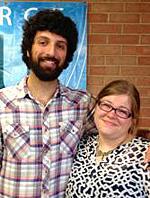 Arash Davari and Meredith Everitt