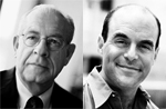 Carl Kasell and Peter Sagal