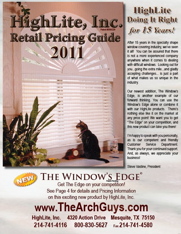 2011 pricing cover