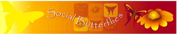 Social Butterflies header