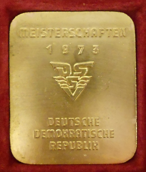 1973 East german medal