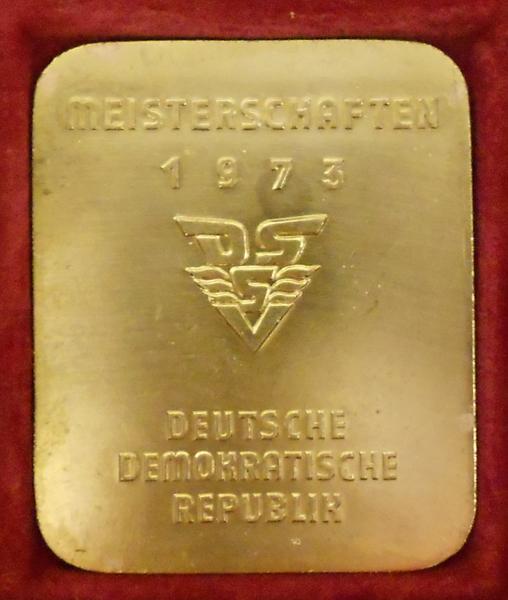 1973 East german medal