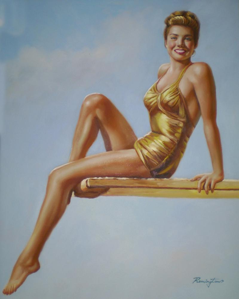 esther williams painting