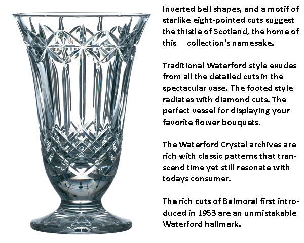 Waterford Balmoral Vase Special