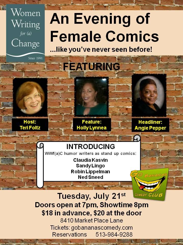 An evening of female comics