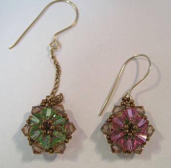 star of india earrings