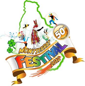 Montserrat 50th Festival logo