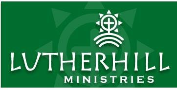 Lutherhill logo - green