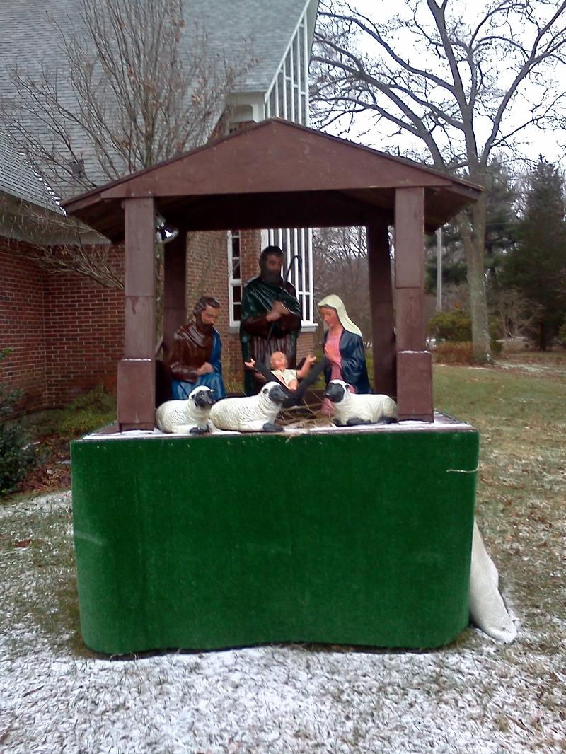 St. Luke's Outdoor Creche