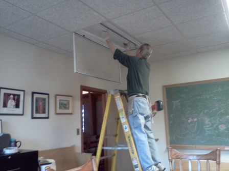Changing lights with Green Grant