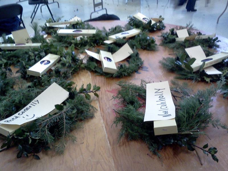 Advent Wreaths 2012