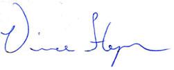 Vince Signature