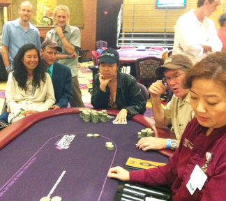 Kelly King wins SBA Poker Tourney