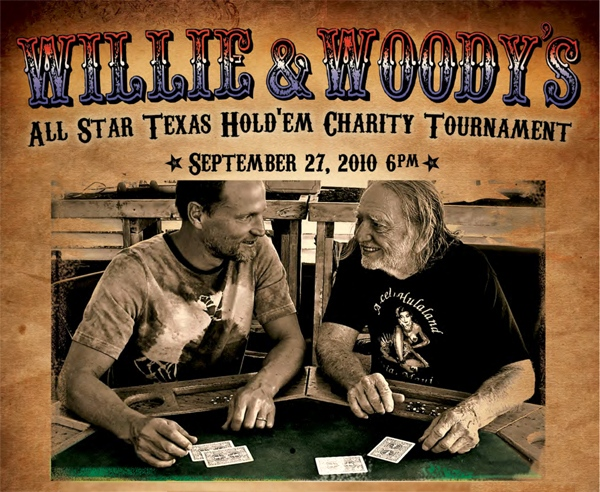 Wille and Woody Poker Tourney Promo