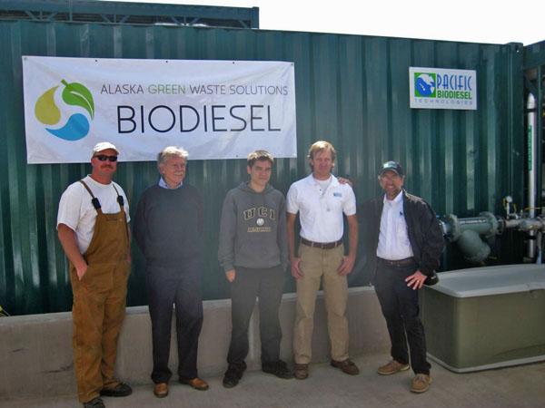 Alaska Plant Opening