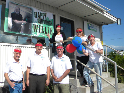 BioWillie staff group shot
