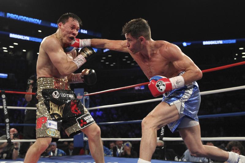 Chris Algieri shined in a twelve round split decision over World Boxing Organization ('WBO') Junior Welterweight Champion Ruslan Provodnikov