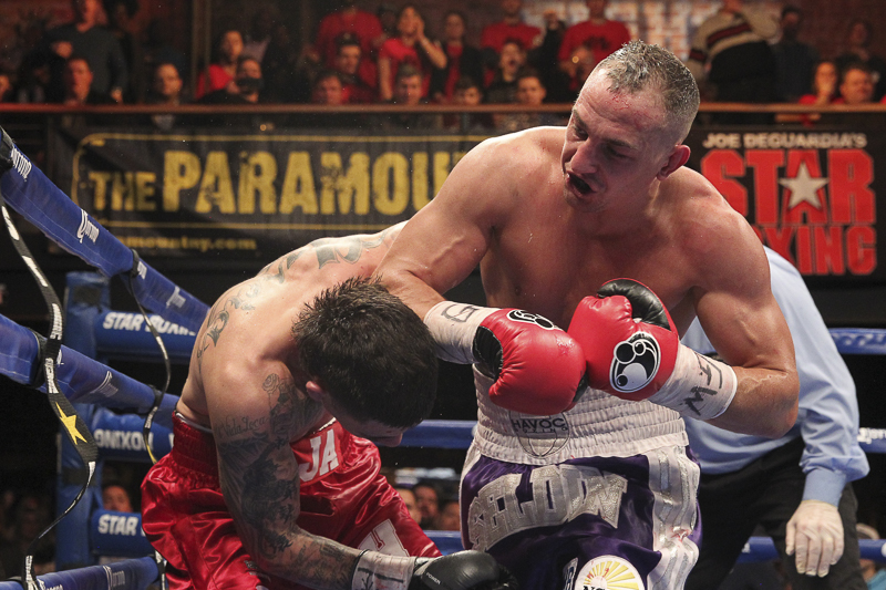 "CLETUS ""THE HEBREW HAMMER"" SELDIN FACES RANEE GANOY IN MAIN EVENT AT THE PARAMOUNT"