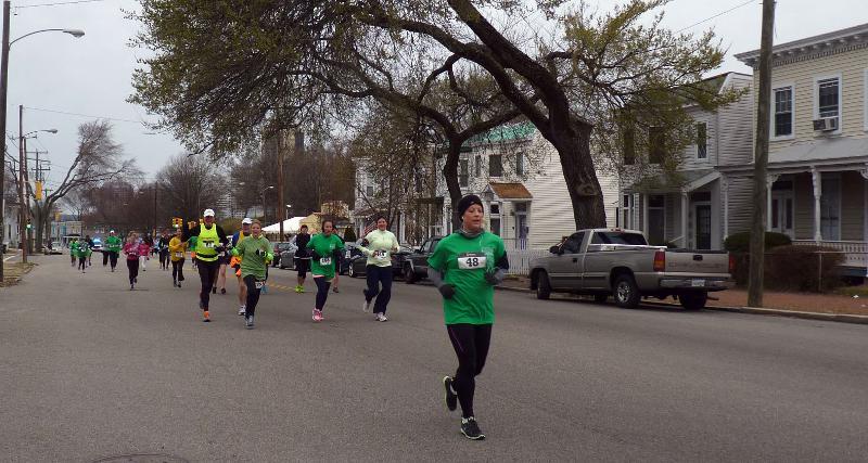 Julie Hovermale & Hill Topper 5K Runners