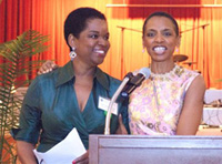 Valerie and Donna Edwards