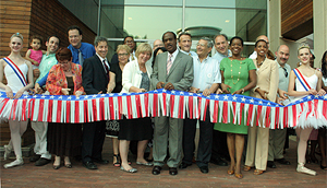 Civic Building Ribbon Cutting
