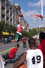 3 on 3 dunk contest