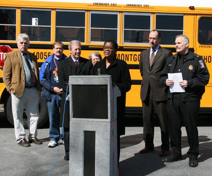School Bus Cameras Press Conference