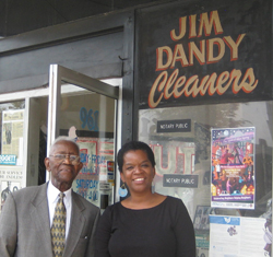 Jim Dandy and Valerie Ervin