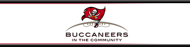 Buccaneers in the Community