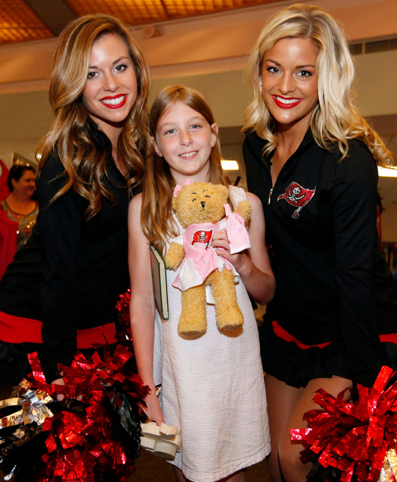 Cheerleaders Hospital Teddy Bear