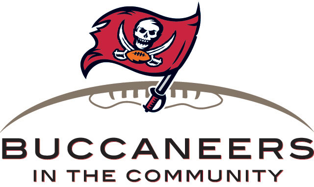 Bucs in the Community logo