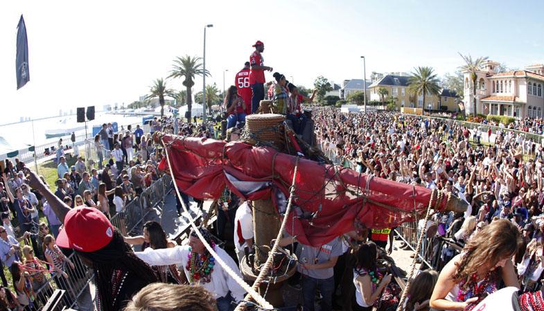 Buccaneers Gasparilla Float