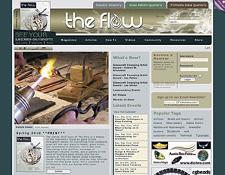 Flow Web site photo